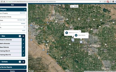 "Custom Map ""App"" – Field Service"